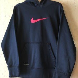 Girls youth lg Nike thermal fit sweat shirt EUC!